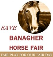 Save the Fair - A Facebook camapign to save the Banagher Horse Fair has been started, after the standoff between the Guardai and Dept of Agriculture on one side and locals and traders on the other.