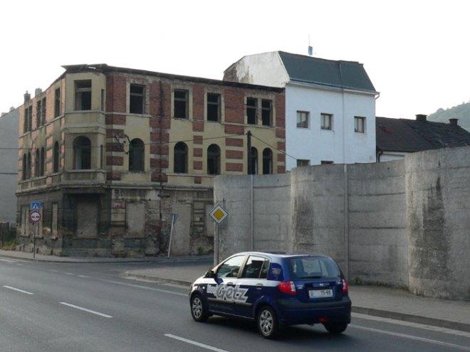 Maticni Street in Usti nad Labem