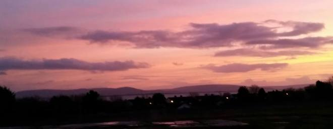 Sunset at Renmore in Galway