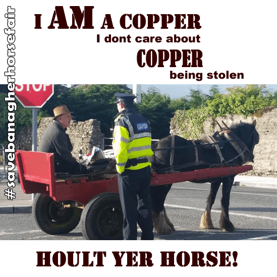 Hoult yer horse