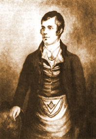 """It was the writings and life of Robbie Burns that inspired my interest in Freemasonry, which has got me the ire of some nuns on the net of late!  His only fault was his lust for women, which is not a sin at all, or if a sin one of the better faults for a man to have, he """"being a man for all that!"""" and if its good enough for him, the hate spewed from official church channels both of my own and the Protestant Churches are something I ignore with glee.  Pope Francis problems with Freemasonry is something I dont understand, though his tolerance for the gays is to be admired, and given the choice between the two Im glad he is hostile to them and not to us.  He is a good pope, and I forgive him his hatred and his folly!"""