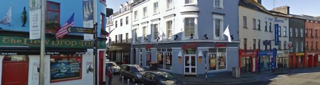 The Dew Drop Inn in Galway - scene of Irelands Smallest Comedy Club