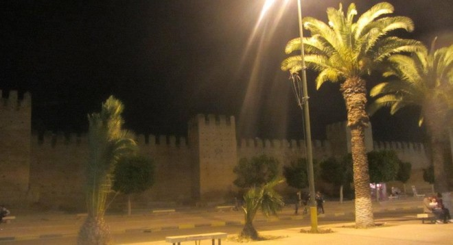 Irish and Islamic peoples have a lot more in common than we realise, faiths and cultures to be shared when the refugees do arrive... Taroudant in Morocco at night