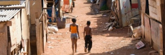 Crime ridden favela slums in Brazil are filling with bankrupt small farmers