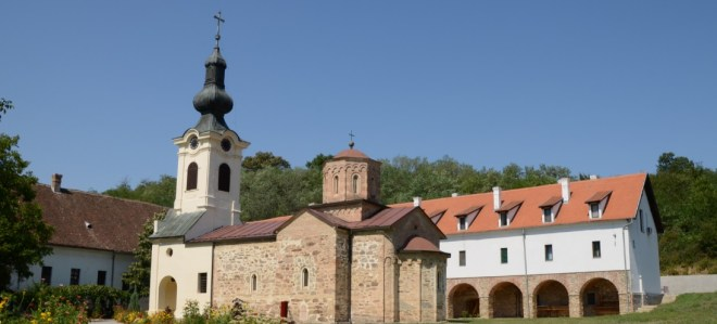 Monastry at Mesic in Serbia