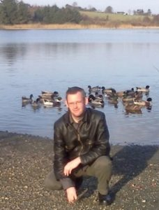 Me at Lough Gowna some years back.