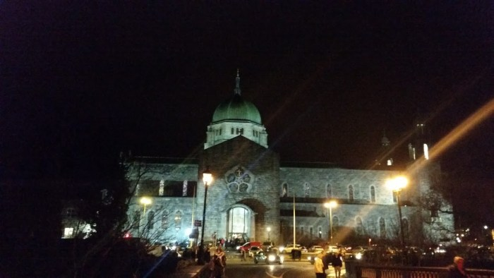 Galway Cathederal after the Novena