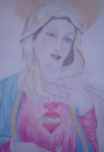 Our Lady and Her Sacred Heart
