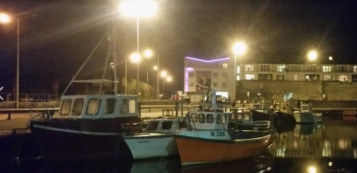 Fishing Boats at Galway Docks