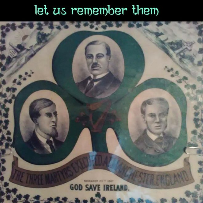 The Manchester Martyrs - Let Us Remember Them