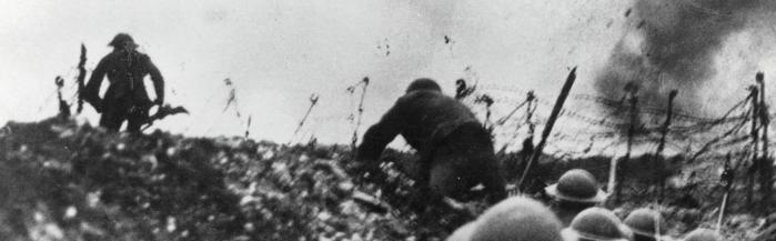 Over the Top in World War One