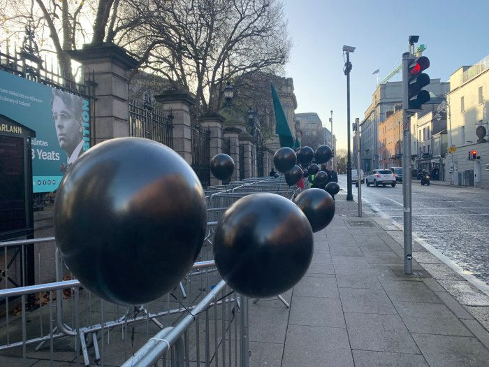 56 Black Balloons for the homeless who died so far in 2020