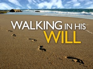 Jesus - walking in His Will
