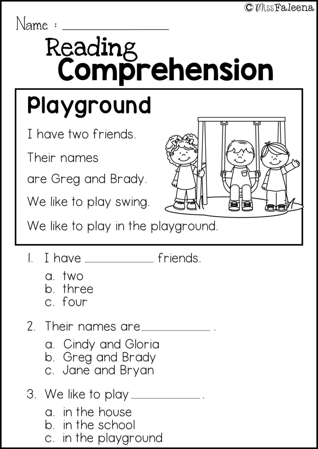 1st Grade Reading And Writing Worksheets