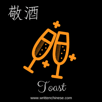 Toast in Chinese