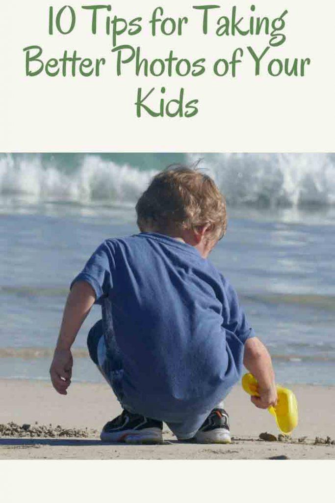 https://www.writteninwaikiki.com/10-tips-taking-better-photos-kids/ child beach digging in sand