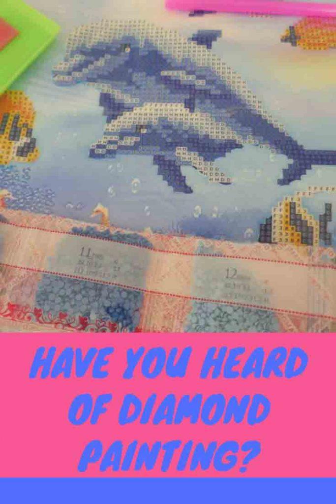 https://www.writteninwaikiki.com/diamond-painting/ diamond painting kit dotz dolphins