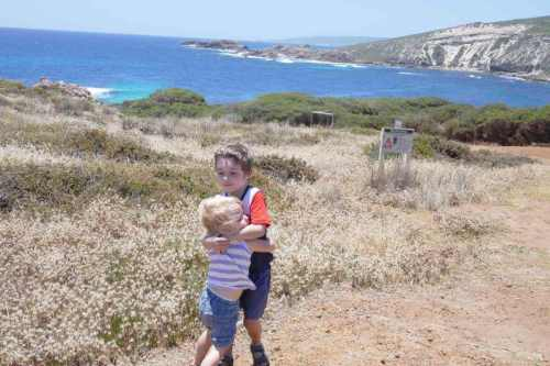 benefits of positive thinking kids hugging Margaret River Western Australia