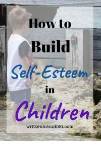 How to build self esteem in children pinterest boy looking at rocks
