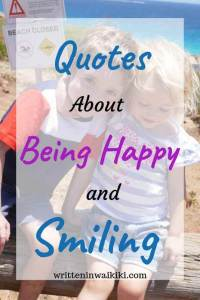 quotes about being happy and smiling pinterest