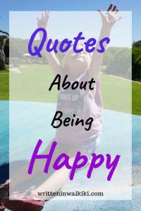 quotes about being happy pinterest