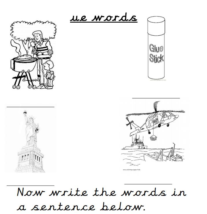 """Ue"""" words/Spellings – Writtle Infant School"""