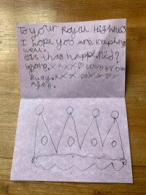Ruby writes to HM The Queen