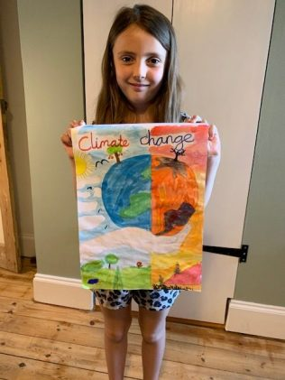 Annabelle's climate change poster
