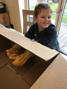 Lincoln's glove box