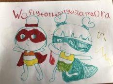 Darcey's superheroes