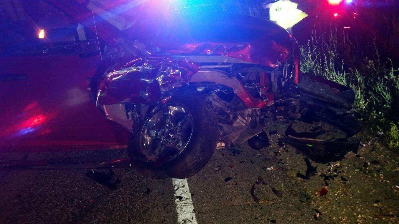 Car Train Accident Near Mauston