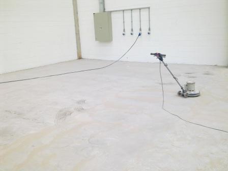 limpeza diamantada com aplicacao de endurecedor de concreto