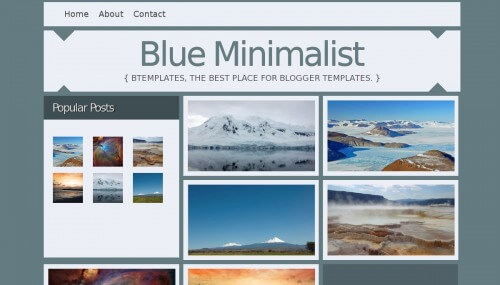blue-minimalist-blogger-template