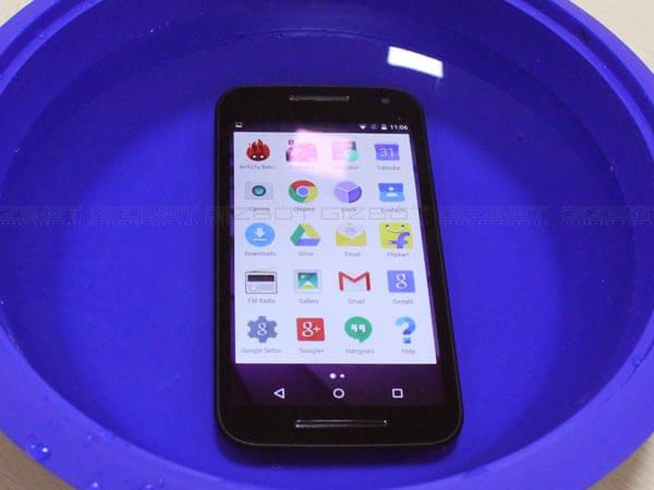 Moto G3 water-proof-