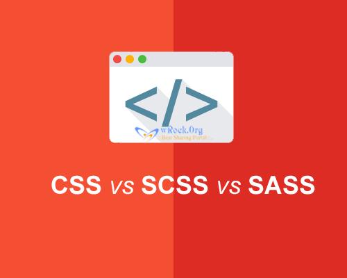 css vs scss vs sass