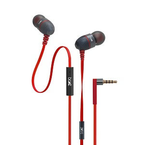 boAt BassHeads 225 In-Ear Super Extra Bass Headphones with One Button Mic