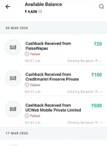 Blocked Paytm