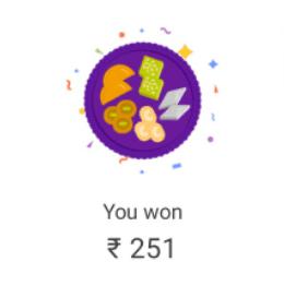 Google Pay Diwali Reward