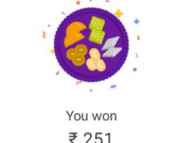 Google Pay Diwali Reward