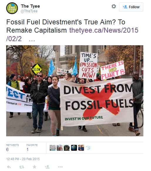 Remaking Capitalism Tweet