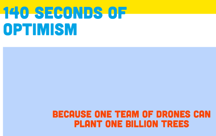 The Climate Optimist campaign created by The Climate Group