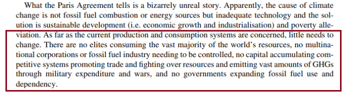 Clive L. Spash, WU Vienna University of Economics and Business, Vienna, Austria, This Changes Nothing: The Paris Agreement to Ignore Reality, Globalizations, 2016 Vol. 13, No. 6, 928–933