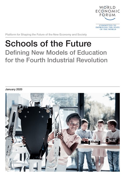 "January 2020, World Economic Forum: ""The notion of an educator as the knowledge-holder who imparts wisdom to their pupils is no longer fit for the purpose of a 21st-century education."""