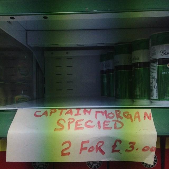 captain morgan specied