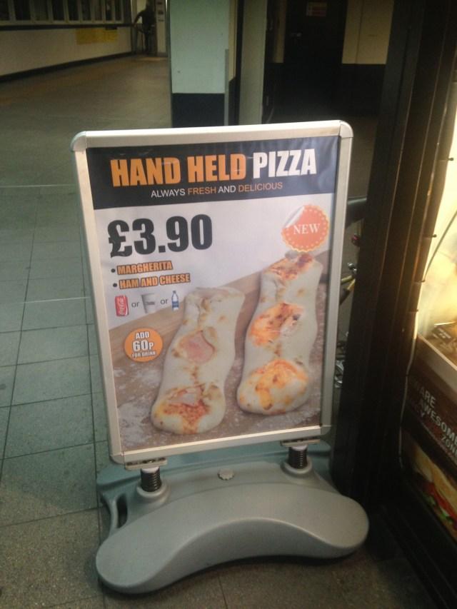 Hand held Pizza