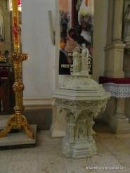 Chrzcielnica w Kościele Matki Boskiej Bolesnej w Poznaniu