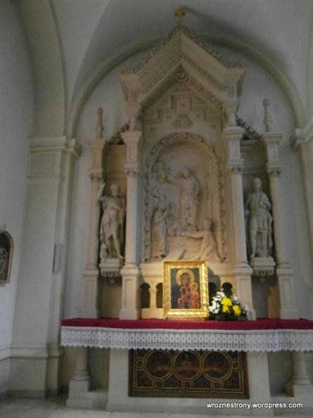 Wnętrze Kościoła Matki Boskiej Bolesnej w Poznaniu