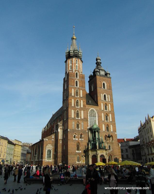 Kraków, Kościół Mariacki, 2015