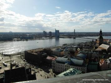 Widok z wieży kościoła św. Piotra