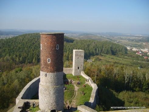 Ruiny zamku w Chęcinach 10.2010